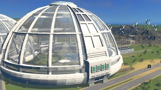 Download When City Planning in Cities Skylines traps everyone inside The Dome Video