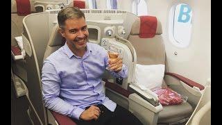 Download Royal Air Maroc 787 Business Class - Rio de Janeiro - Casablanca Video
