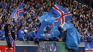Download Iceland Beats England. Everyone Goes Nuts. ( Ísland Sigraði England. Allir Bilast.) Video