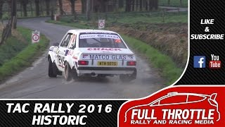 Download TAC Rally 2016 Historic | Sideways Action Video