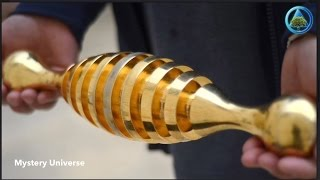 Download Mysterious gold object found in ancient Israel cemetery Video
