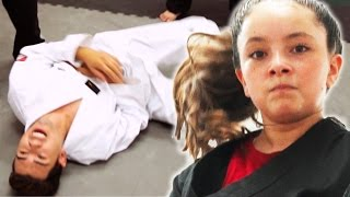 Download Black Belt Kid Vs. White Belt Adults Video