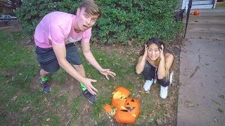 Download PUMPKIN PATCH DATE WITH MY CRUSH!! (GONE WRONG) Video