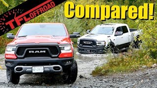 Download We Drive the Ram Rebel and Power Wagon Up a Mountain to Find the Better Truck! Video