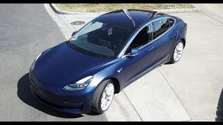 Download Tesla Model 3 - XPEL Stealth Clear Bra & CQuartz Finest Reserve Coating Video
