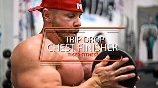 Download BIGGEST CHEST PUMP EVER | Trip Drop Chest Finisher Superset Video