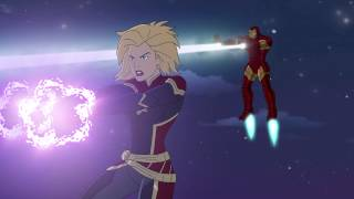 Download Marvel Super Hero Adventures: Frost Fight! (2015) - Trailer Video