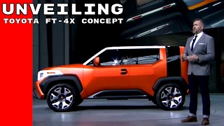Download Toyota FT-4X Concept Unveiling Video