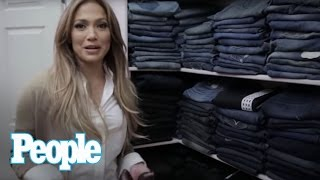 Download Jennifer Lopez Shows Us Inside Her Enormous Closet! | Hollywood at Home | People Video