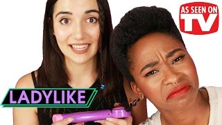 "Download Women Try ""As Seen on TV"" Hair Products • Ladylike Video"