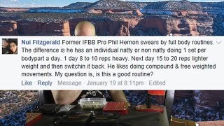 Download Phil Hernon's Full Body One Set A Day Every Day Training? Video
