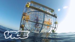 Download Florida Man Runs to Bermuda in a Giant Bubble | WTFLORIDA Video