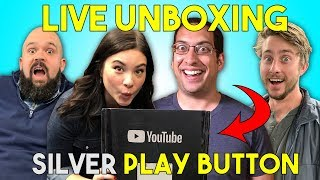 Download LIVE UNBOXING! Silver Play Button Reward! Video