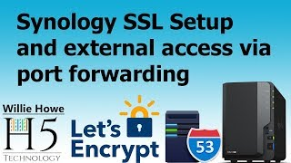 Download Synology External Access With SSL, Port Forwarding, and DNS! Video