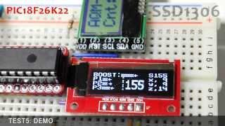 Download SSD1306 (OLED Display) Frame Buffer Test Video