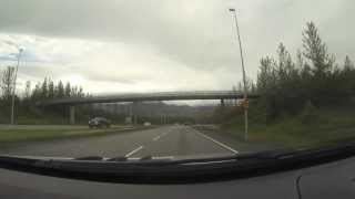 Download Driving out of Reykjavik towards North Iceland Video
