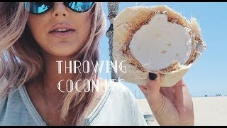 Download THROWING COCONUTS!! | Paige Danielle Video