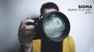 Download THAT GLASS!!! - SIGMA 85mm f1.4 ART on Sony a7iii Video