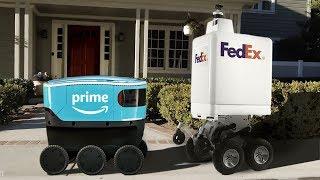 Download Top 6 Delivery Robots - Self Driving (Autonomous) Delivery Robots - 2019 Video