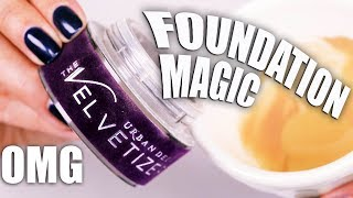 Download MIXING LOOSE POWDER IN LIQUID FOUNDATION?!! AMAZING RESULTS!!! OMG!!! Video