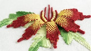 Download Embroidery Flower DIY: Creative Design Ideas by HandiWork Video