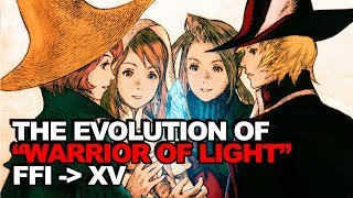 Download The Complete Evolution of The ″Warrior of Light″ Story Arc (Final Fantasy I - XV) Video