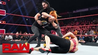 Download Rollins, Lynch, Corbin and Evans get Extreme: Raw, June 24, 2019 Video