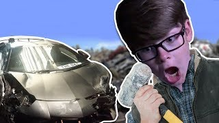 Download CRUSHING MY CAR!! | Roblox Video
