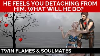 Download 🔥 TWIN FLAME CONNECTION READING - HE FEELS YOU SLIPPING AWAY FROM HIM & HE'S DEVASTATED! 💐 Video