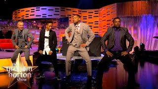 Download Will Smith, Alfonso Ribeiro and DJ Jazzy Jeff Perform The Carlton Dance - The Graham Norton Show Video