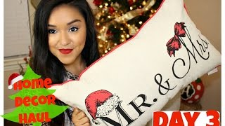Download Huge Christmas Home Decor Haul | day 3 of 12daysofChristmaswithBianca Video