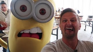 Download We Ate Breakfast With The Minions At Universal Orlando | Despicable Me Character Breakfast Review Video