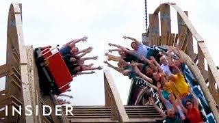 Download Roller Coaster Lets You High Five Other Riders Video