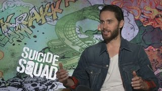 Download Jared Leto speaks as The Joker: ″The Bat is a sweet guy. I like the Bat, I think he is a lot of fun″ Video