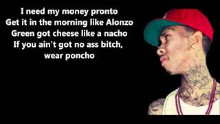 Download Rack City - Tyga // Lyrics On Screen [HD] Video