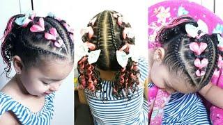 Download Trenzas con liga con kanekalon / peinados para niña Video