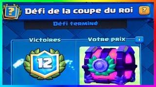 Download Clash Royale - ENORME COUPE DU ROI 12 Victoires + Pack Opening un Coffre de FOLIE ? Video