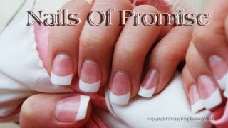 Download Acrylic Pink & White Tutorial. Complete Step By Step. Nails Of Promise Video