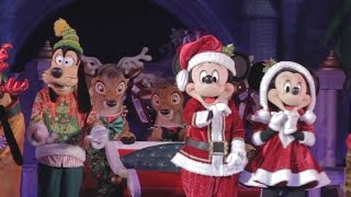 Download Mickey's Most Merriest Celebration Castle Stage Show, Very Merry Christmas Party, Walt Disney World Video