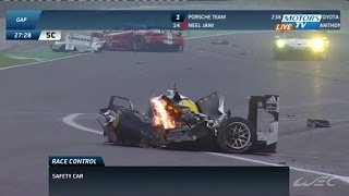 Download Mark Webber Matteo Cressoni Huge Crash 2014 WEC Season Finale in Sao Paulo Video