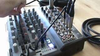 Download Behringer Xenyx 1202FX mixer Demo Part 2/2 Video