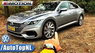 Download VW Arteon R Line 2.0 TSI 4Motion 280HP REVIEW POV Test Drive by AutoTopNL Video