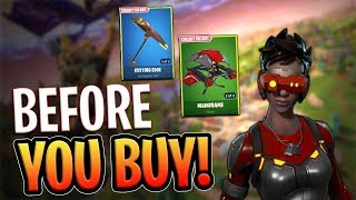 Download Cipher Outfit | Cutting Edge | Mainframe - Before you Buy - Fortnite Video