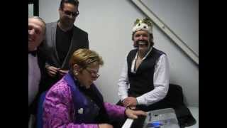 Download Freddie Mercury, Elton John and George Michael - 3 Puffs and a Piano Video