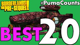 Download Top 20 Best Guns and Weapons in Borderlands: The Pre-Sequel! #PumaCounts Video