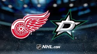 Download Detroit Red Wings Vs. Dallas Stars   NHL Game Recap   October 10, 2017   HD Video