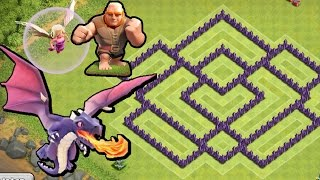 Download BEST Town Hall Level 7 Defense Strategy for Clash of Clans + Defense REPLAY & TH7 Dark Elixir Drill Video
