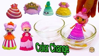 Download Lalaloopsy Color Changing Princess Dress Change In Water at Shopkins Fashion Boutique Video
