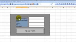 Download Como hacer un formulario para ingresar datos en una hoja de calculo de excel. Video