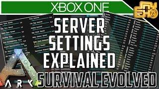 Download ARK XB1 - UPDATE v732 SERVER SETTINGS EXPLAINED (ARK XBOX ONE SETTINGS) Video